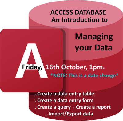 Access Database - An Introduction to Managing your Data