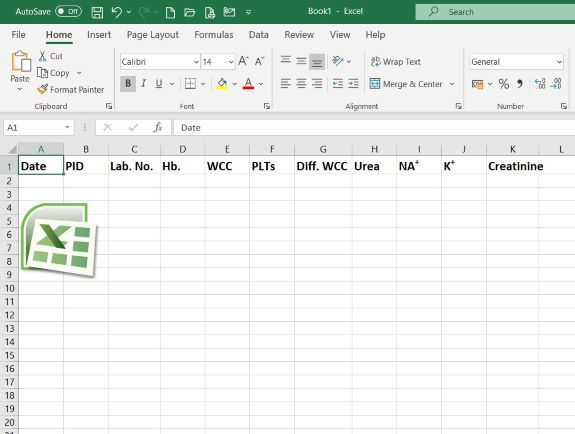 Excel graphic